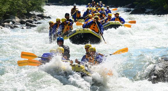 Rafting e sport fluviali