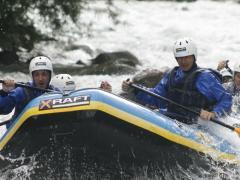 Rafting lungo le rapide del Fiume Noce