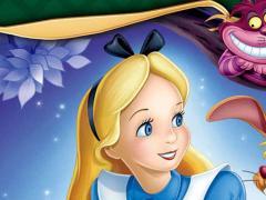 Lilian in Alice nel paese delle meraviglie